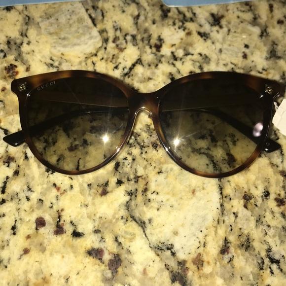 8dcfe43fea7 Gucci GG0223SK Tortoise Brown Gradient Sunglasses